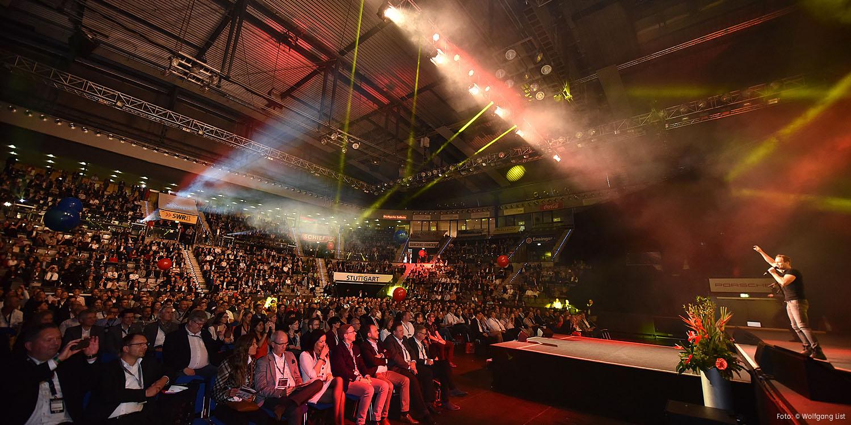 Rune Høck Møller beim Wissensforum - Porsche Arena Stuttgart