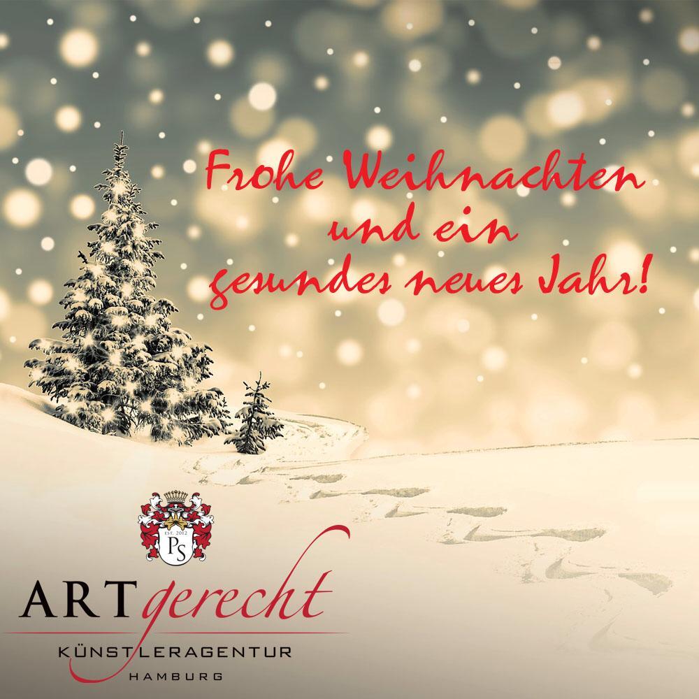 Frohe Weihnachten Whatsapp.Frohe Weihnachten Und Ein Glückliches Neues Kjahr Artgerecht